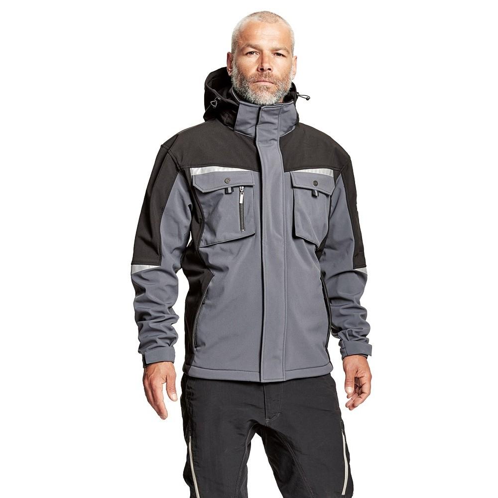 ALLYN softshell jacket with hood